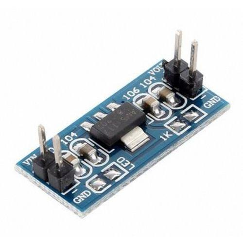 AMS1117 4.5-7V turn 3.3V DC-DC Step Down Power Supply Module
